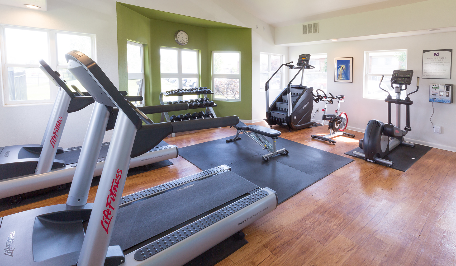 Meadow Creek Apartments - Boulder Creek - fitness center