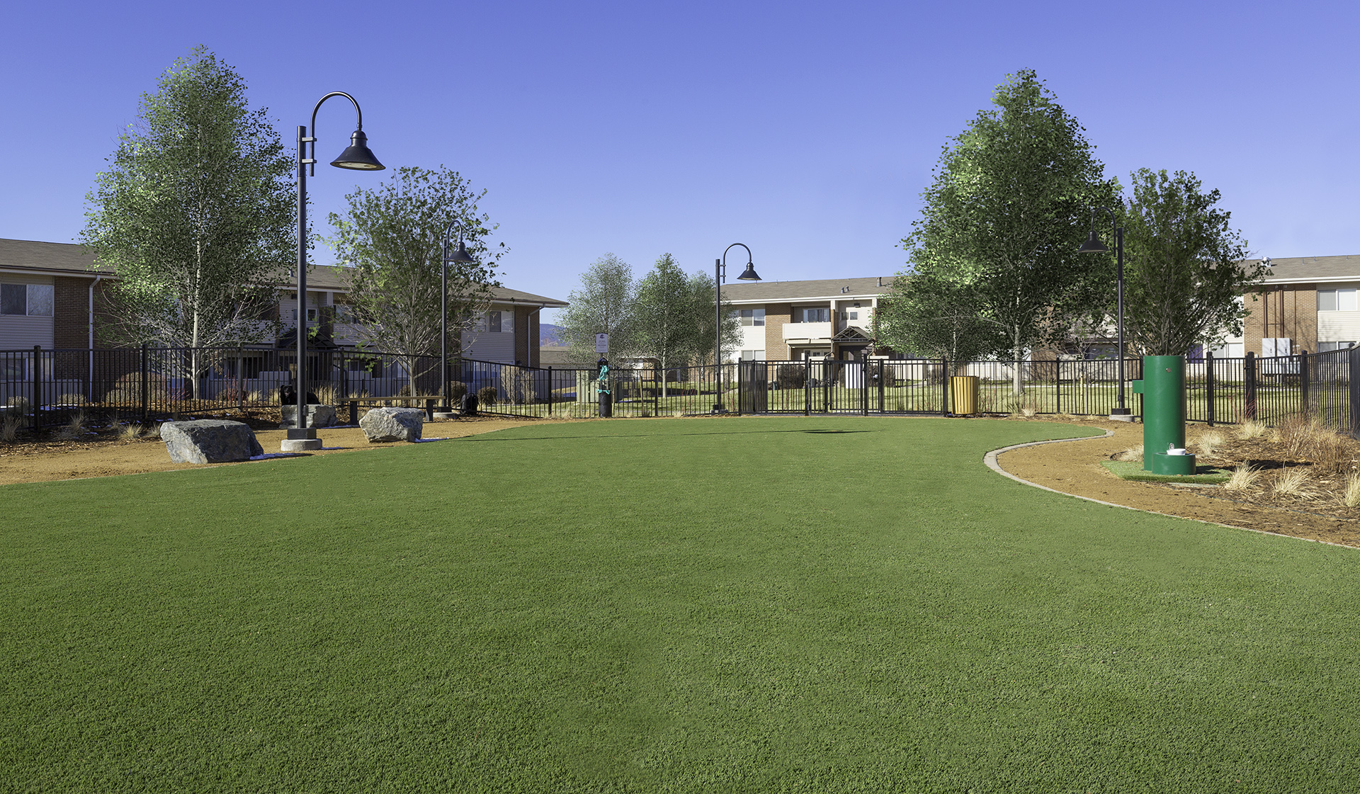 Meadow Creek Apartments in Boulder, CO - dog park