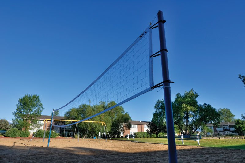 Volleyball Court: View Photo